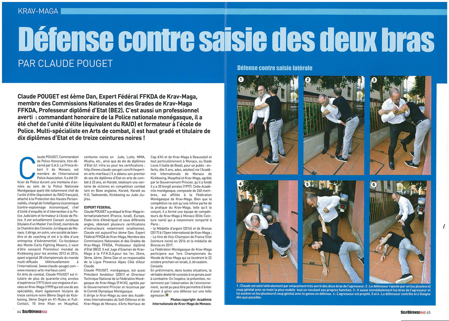 self defense pouget