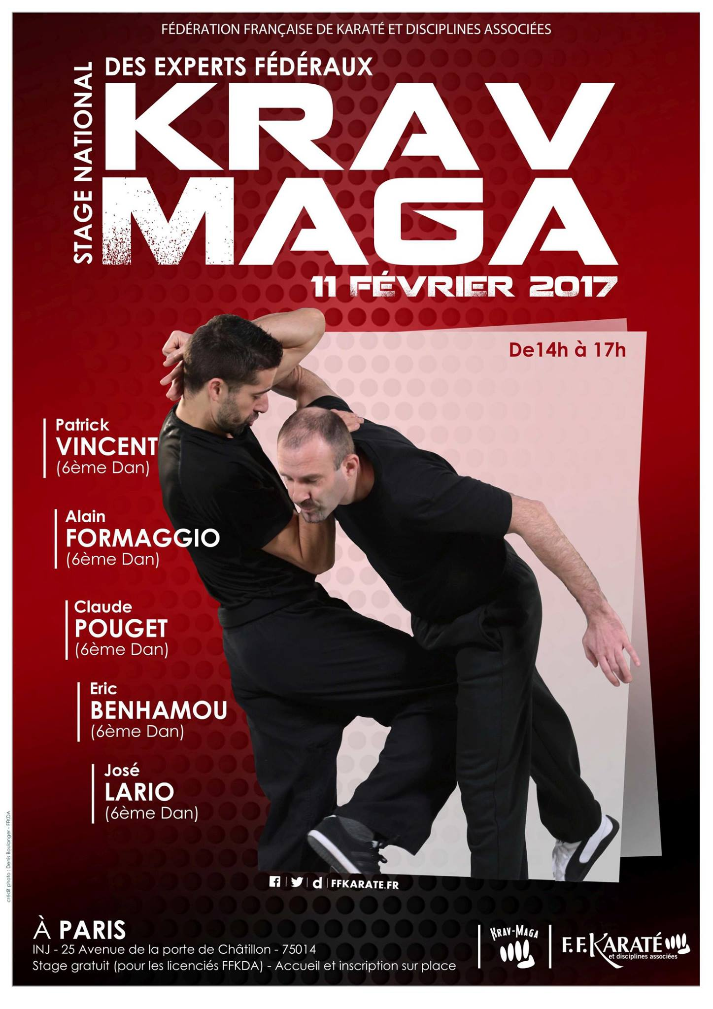 stage national krav maga 2017