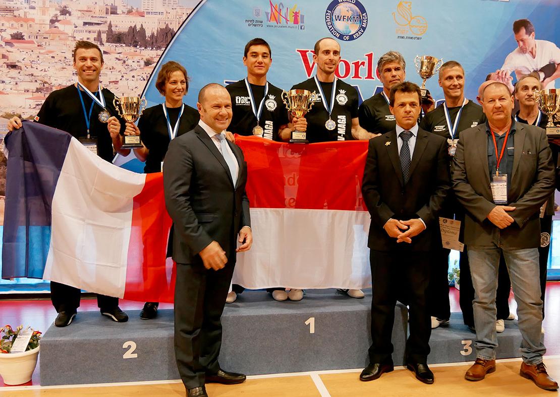 2 Champions du Monde Open 2017 de Krav Maga